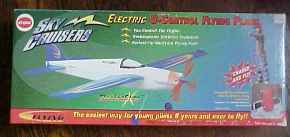 Cox Sky Cruisers Plane ElectriaStar NIB #5845