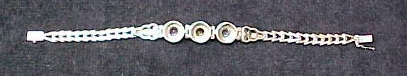 Bracelet Sterling Silver Topaz Amethyst Citrine
