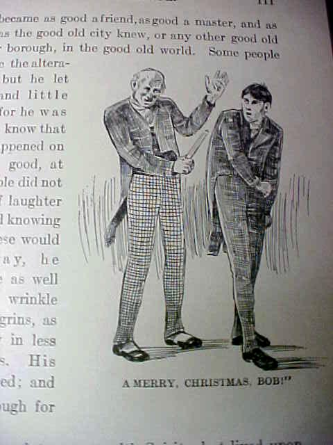 Dickens Christmas Carol 1902 + Christmas Stories