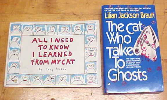 Cat Books Cat Who Talked to Ghosts Cat Quotes