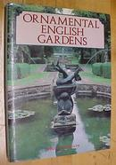 Ornamental English Gardens 1990 Large Book