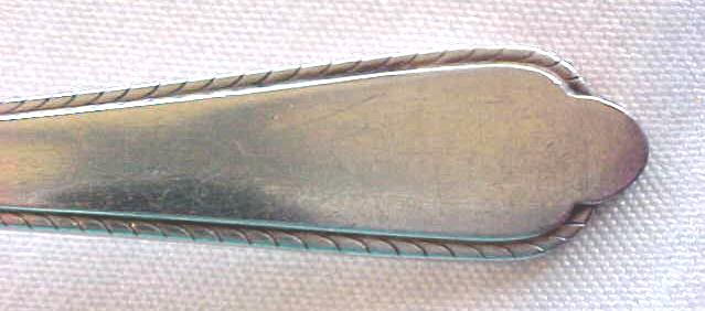 Meat Fork Holmes & Edwards Silver Plated