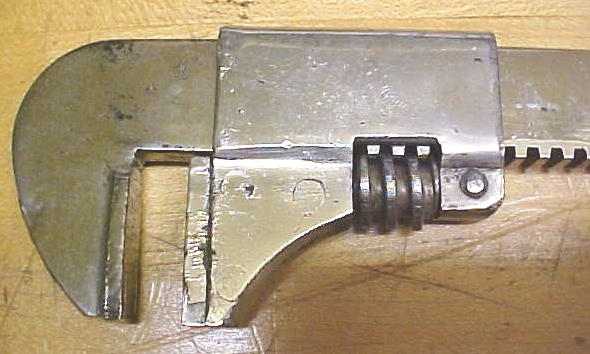 Frank Mossberg No.3 Sterling  Adjustable Wrench