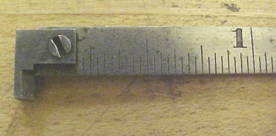 Union Tool Co. Narrow Hook Rule
