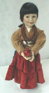 Doll Autumn Harvest Ray Swanson Porcelain