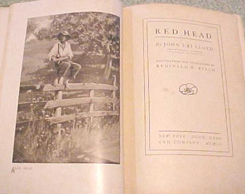 Red Head by John Uri LLoyd 1903 Illustrated by Birch