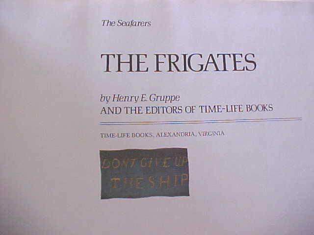 The Frigates by Henry Gruppe 1979 Leather