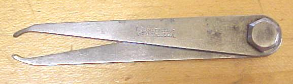 Starrett No. 27 3 Inch Firm-Joint Inside Calipers