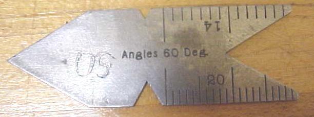 Starrett Steel Center Gage No. 390