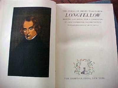 Henry Wadsworth Longfellow Poems 1943