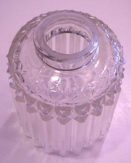 Lamp Light Shade Clear Crystal Pressed Glass