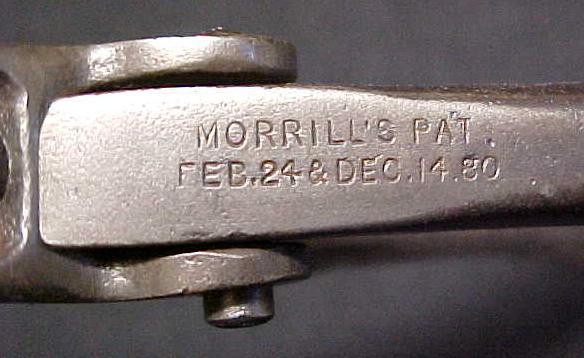 Morrills Saw Set Pat. 1880 Antique