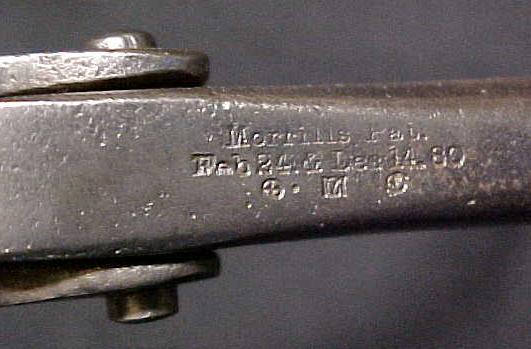 Morrills Pat. 1880  Saw Set Antique