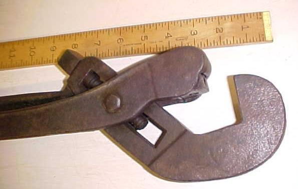 Acme Pipe Tongs Wrench 24 inch Antique