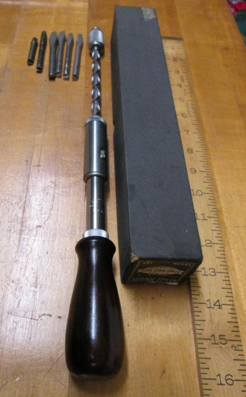 Greenlee Spiral Ratchet Screwdriver No. 448 & Box