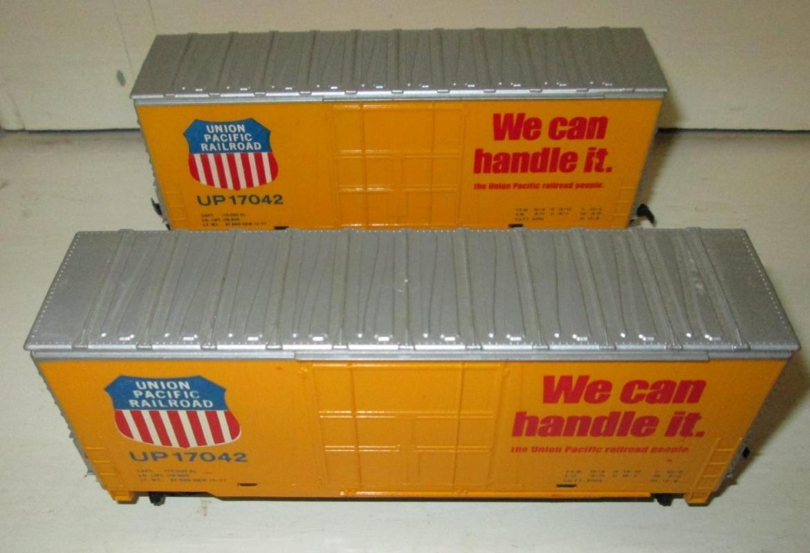 Train Cars HO Scale Union Pacific Railroad Box Car