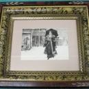 Lady Bountiful Etching Framed Print