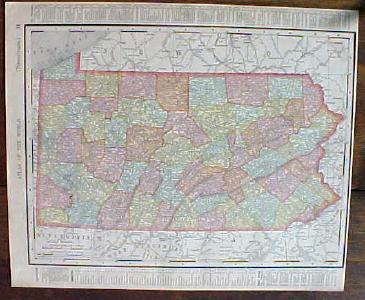 Antique Map Pennsylvania & City of Philadelphia 1901 on suburbs around philadelphia, forecast of philadelphia, coordinates of philadelphia, statue of philadelphia, kensington area of philadelphia, early maps of philadelphia, elevation of philadelphia, old maps of philadelphia, demographics of philadelphia, aerial view of philadelphia, information of philadelphia, weather of philadelphia, county of philadelphia,
