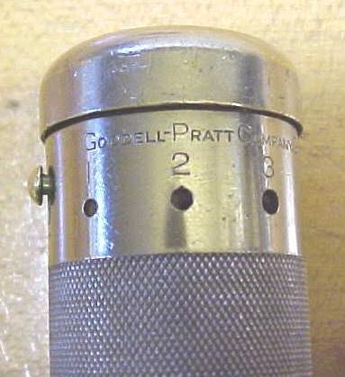 Goodell-Pratt Yankee Style Spiral Push Drill w/7 Bits