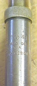 North Bros. No. 41 Yankee Push Drill w/6 Drill Bits 1901