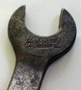 Herbrand Combination Wrench  Ohio Antique