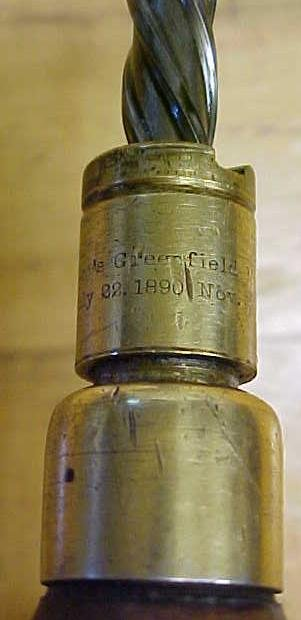Goodell Bros. Spiral Screwdriver Ca. 1890's