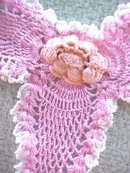 Vintage Lace Collars Crochet Lace 2PC
