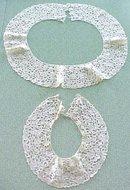 Antique Lace Collars Ladies 2 PC