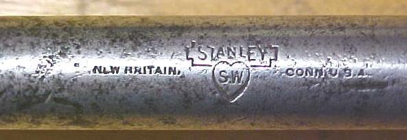 Stanley No. 12W Whimble Brace Fray Patent