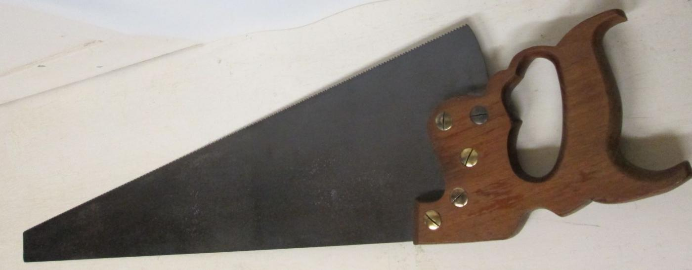 Disston D-12 Hand-Saw 10 TPI Finish Panel Saw 26 inch