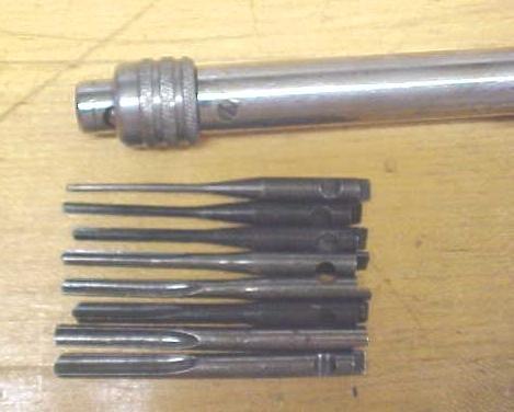 North Brothers Yankee No. 41 Push Drill w/8 Bits