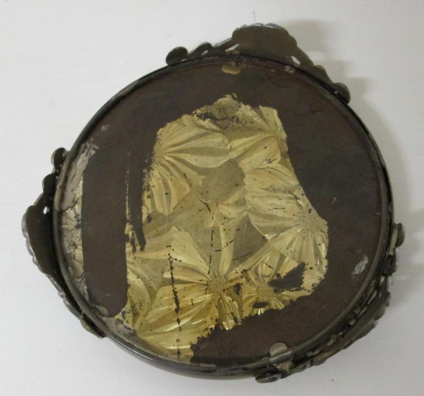 Dresser Mirror Perfume Stand Beveled Glass