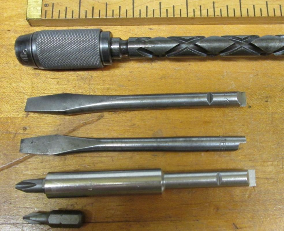 North Brothers Yankee Ratchet Screwdriver No. 30A w/Box/Adapter