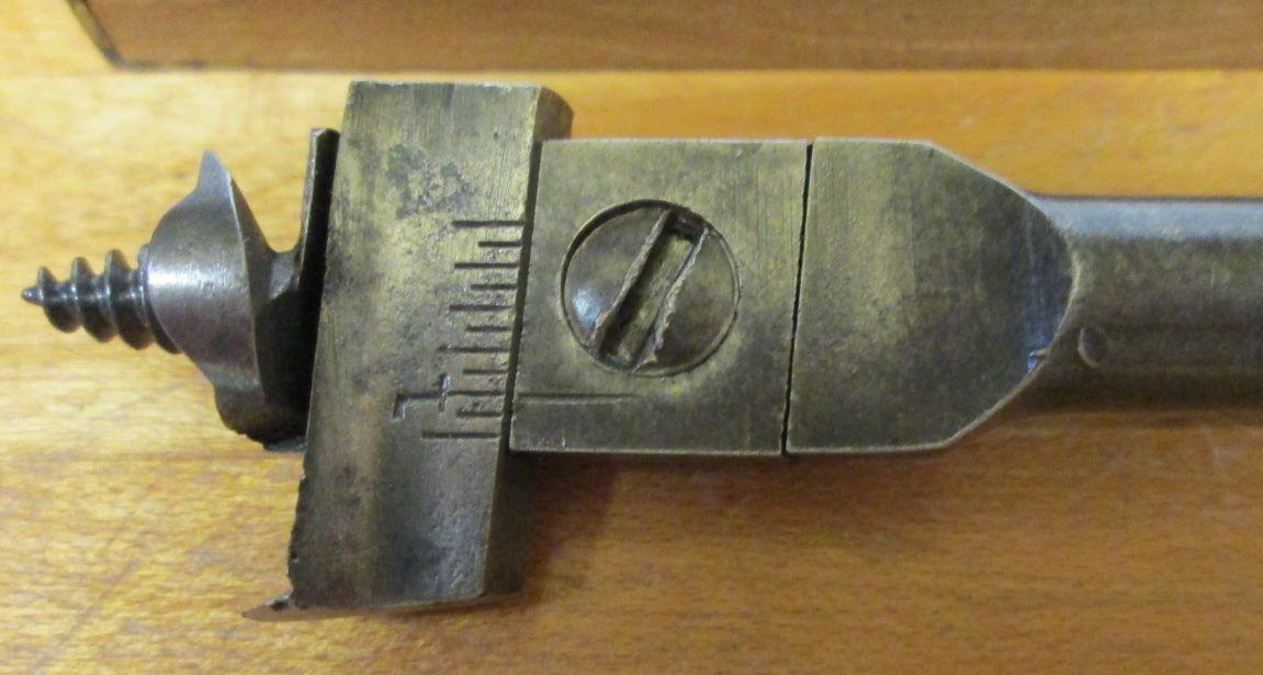 Lakeside Brace Auger Expansive Bit up to 1.75 inch Dia.