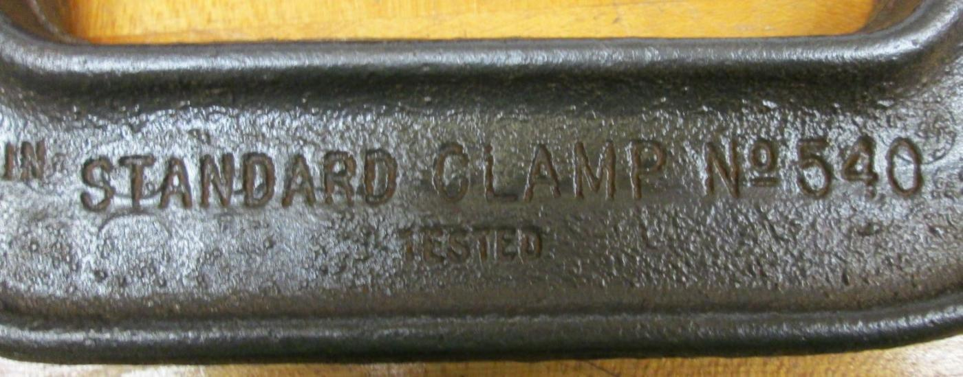 Cincinnati C-Clamp w/Cast Wing Screw 4 inch