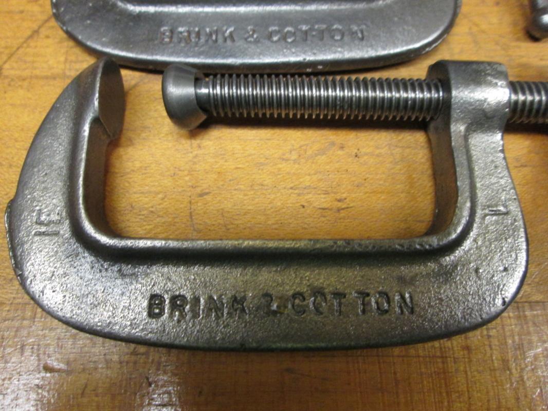Brink & Cotton C-Clamp Pair 2 inch