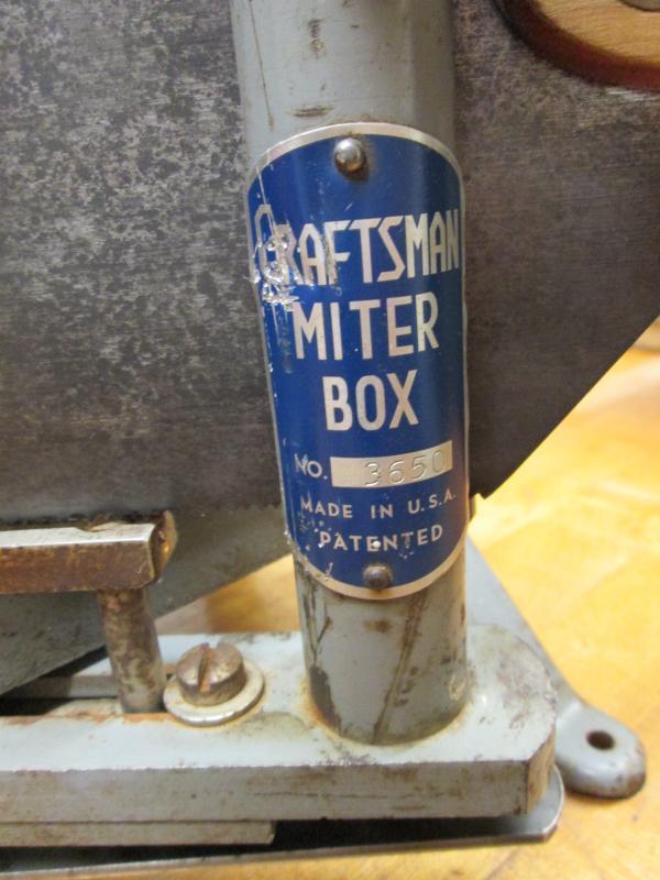 Millers Falls Miter Box Langdon No. 74C Acme Mitre