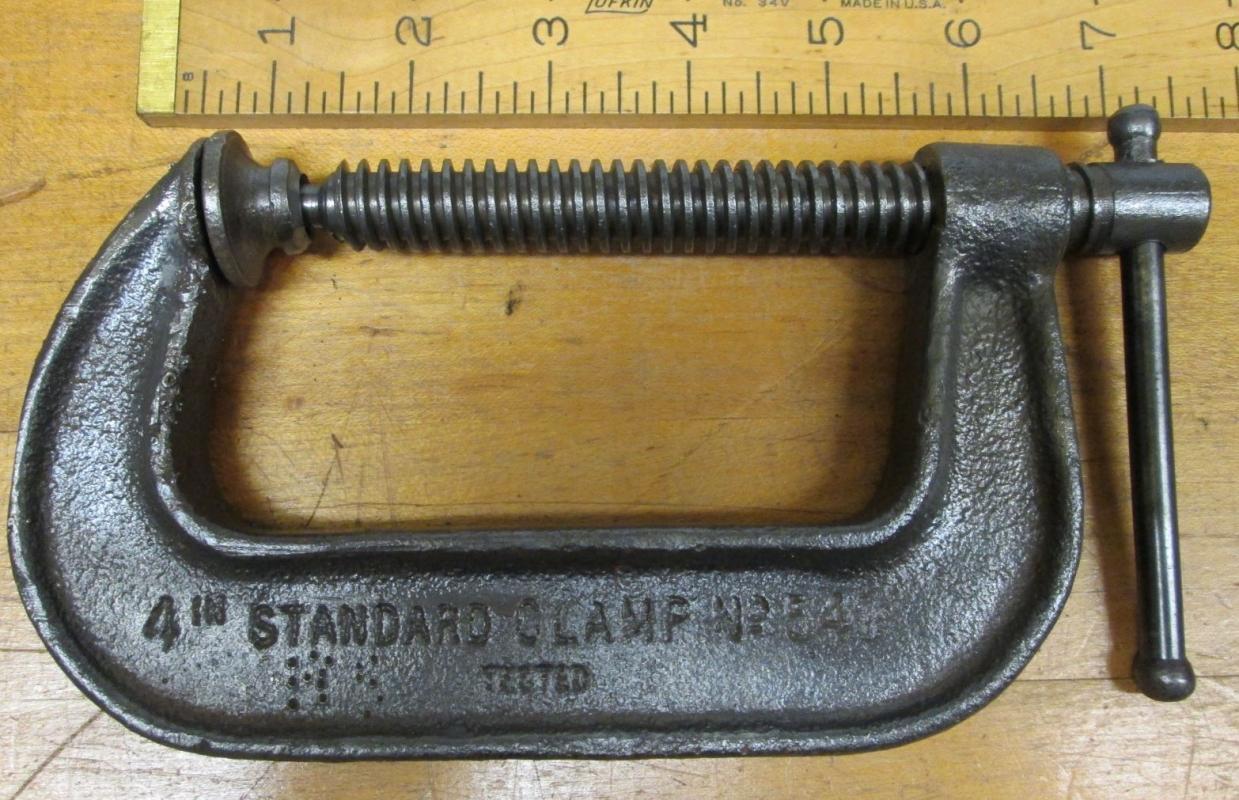 Cincinnati C-Clamp No. 540 Antique 4 inch