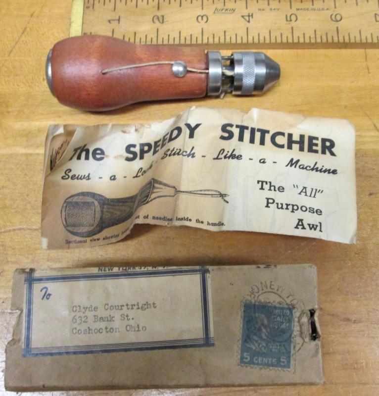 Speedy Stitcher Canvas Sewing Awl