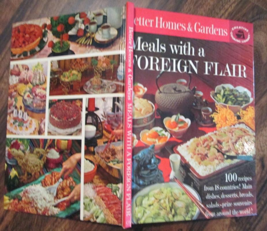 Cookbook Meals with a Foreign Flair 1963