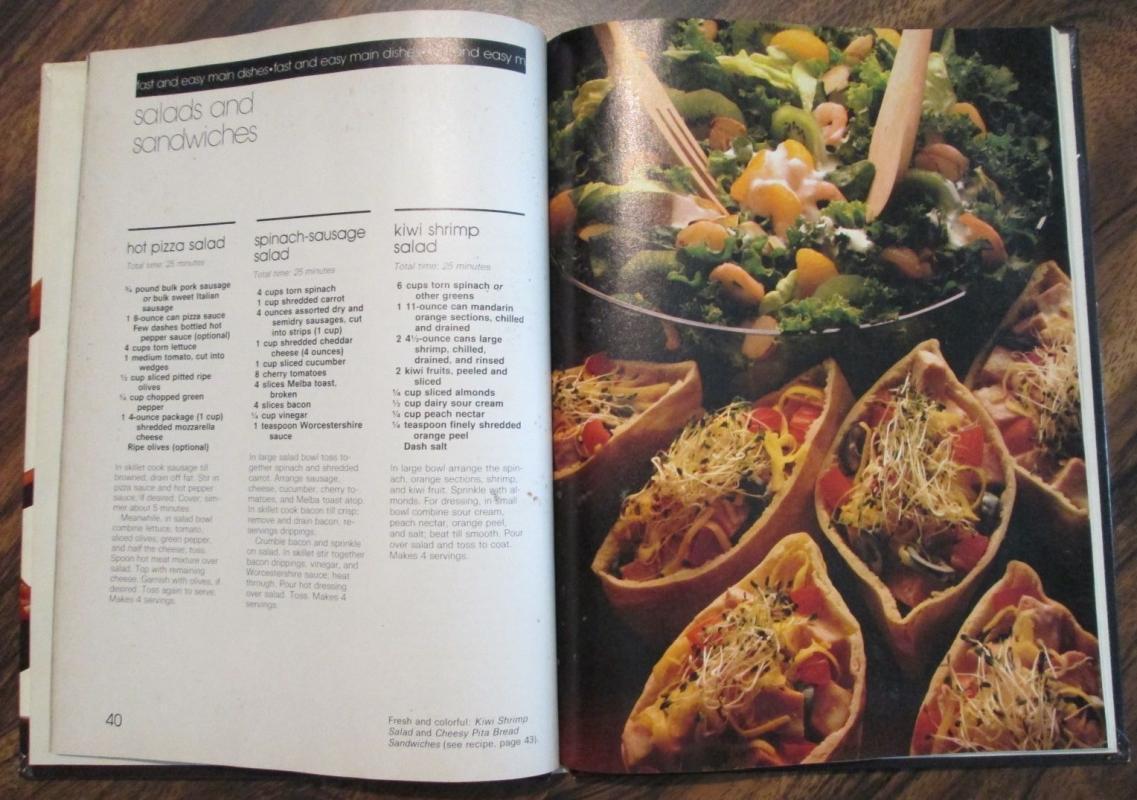Cookbook Shortcut Recipes 1980