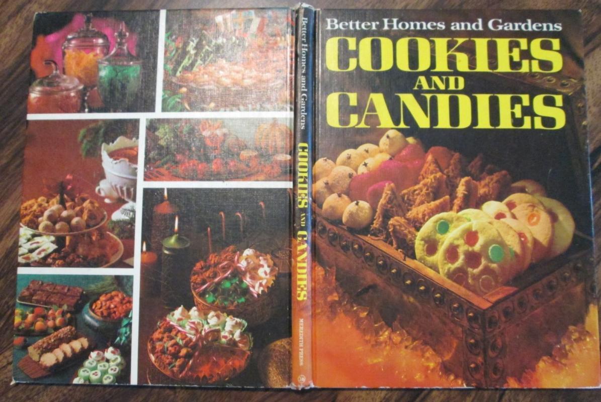 Cookbook Cookies and Candies 1967