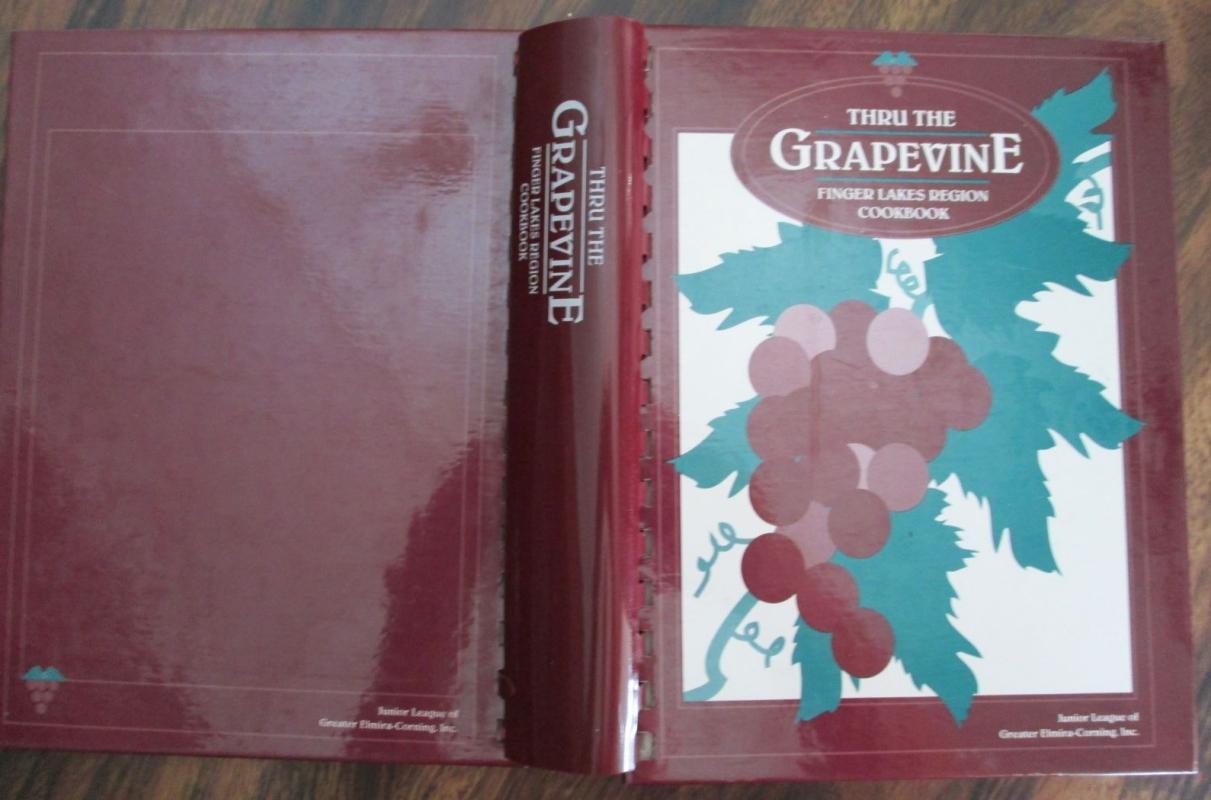 Thru The Grapevine Cookbook Junior League 9609980