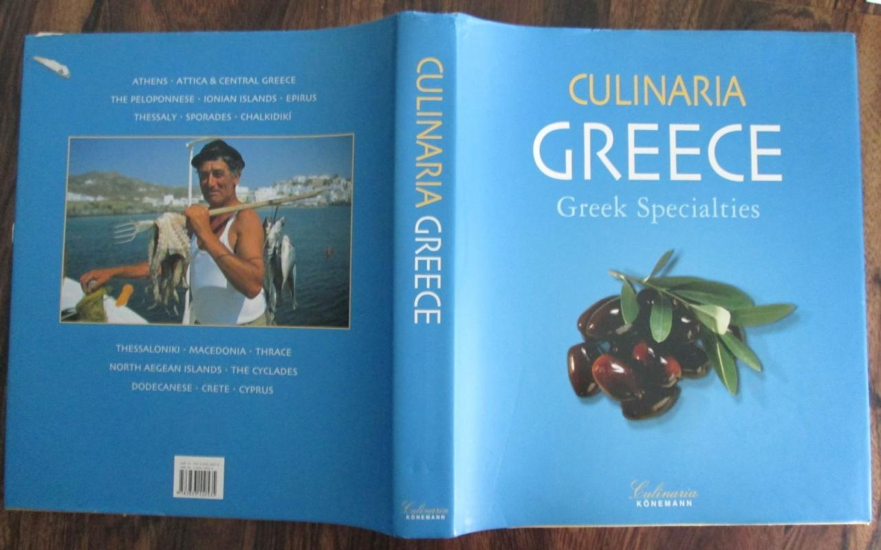 CULINARIA GREECE GREEK SPECIALTIES First Ed.