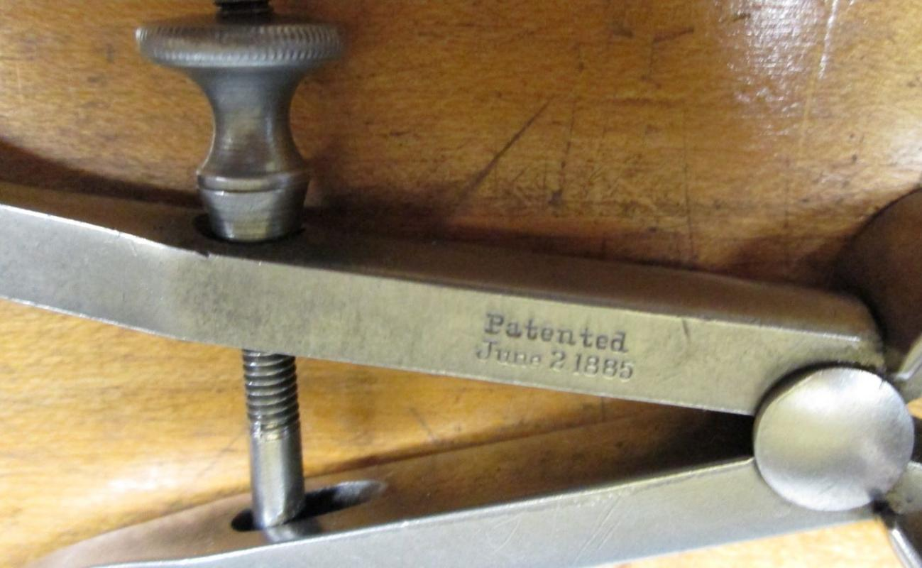 Starrett Outside Spring Thread Calipers 6 inch No. 75