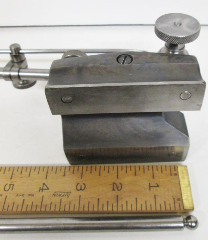 Starrett No. 257 Surface Gage w/2 Spindles Large Base