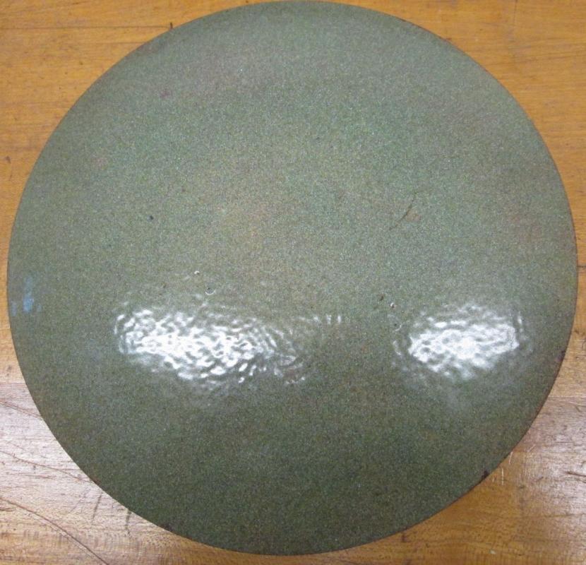 Enamelware Plate Floral 8.5 inch