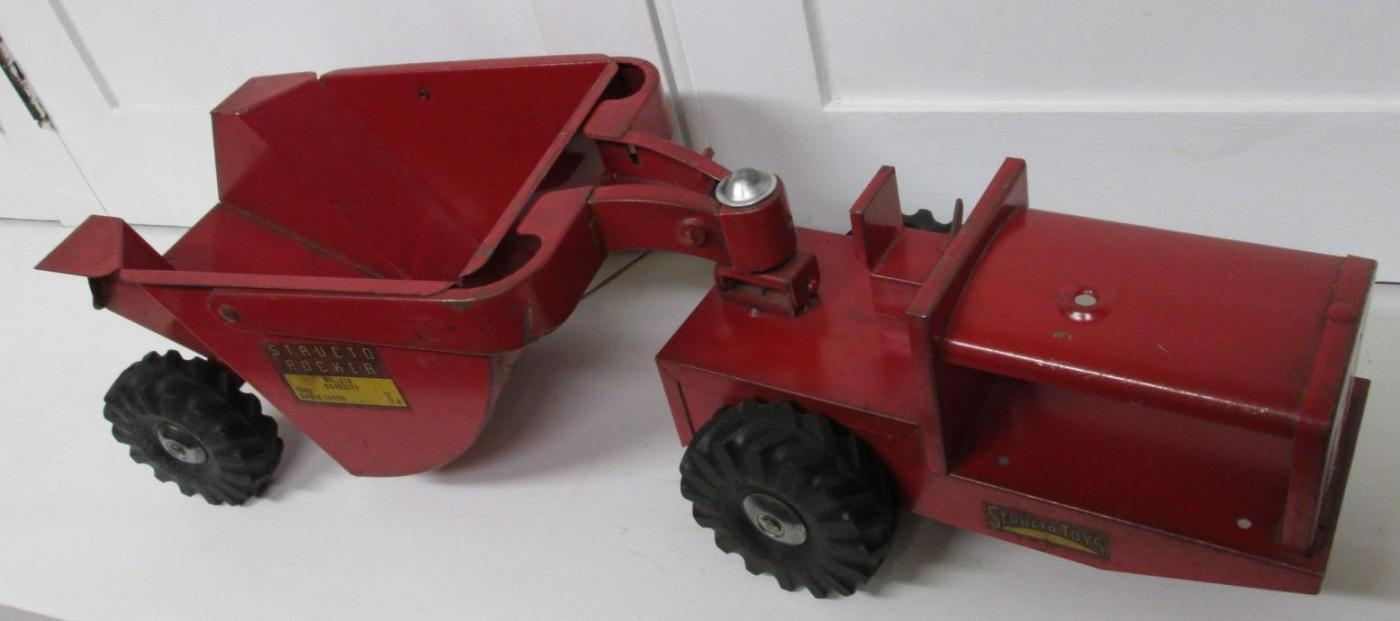 Structo Rocker Steel Toy Dump Truck