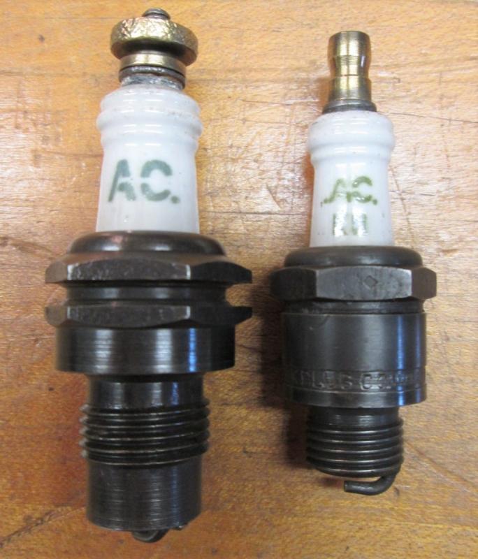 Spark Plugs Vintage AC