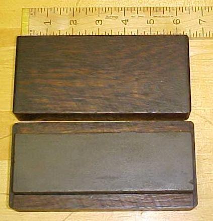 6 inch  Oil Sharpening Stone w/ Oak Case